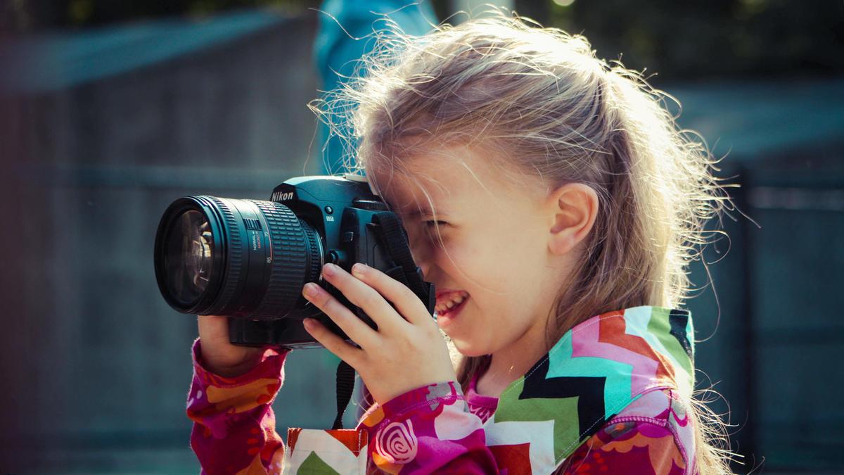 Картинка мальчик фотограф